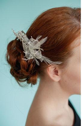 Wire mesh hair clip