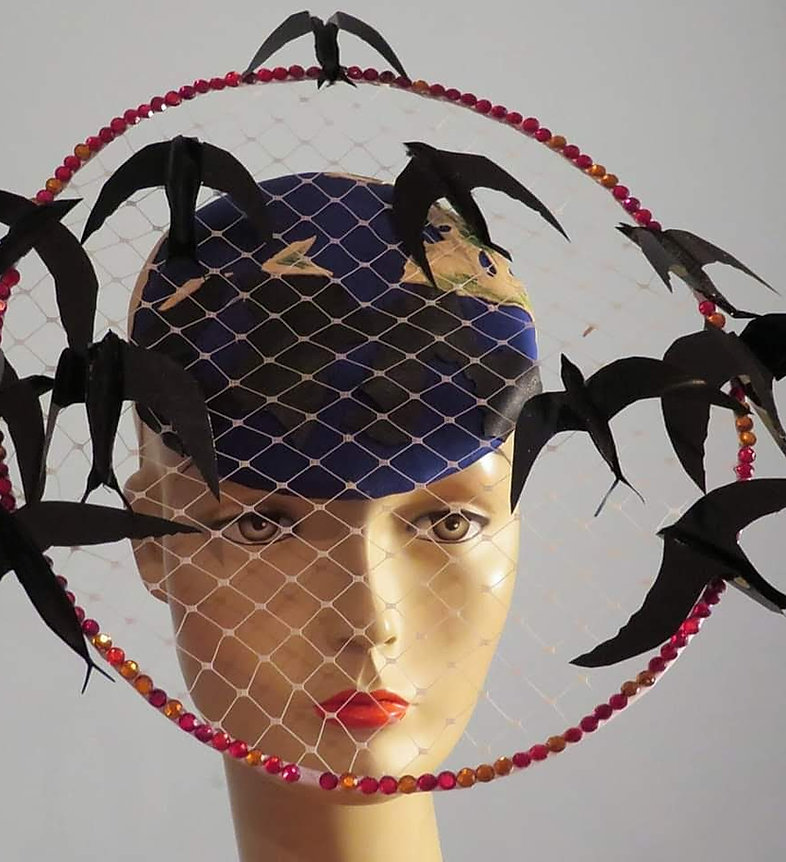 Migrating birds hat