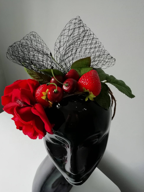 Cherry headpiece