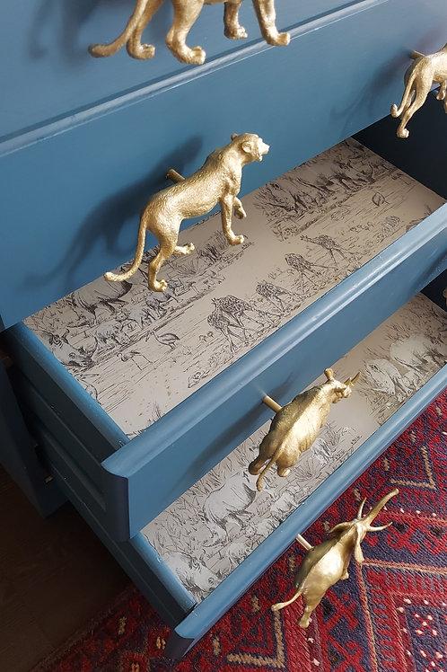 Safari maxi animal drawer pull handles