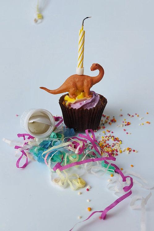 Mini cake topper birthday candles