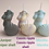 Thumbnail: Decorative mini shell candle