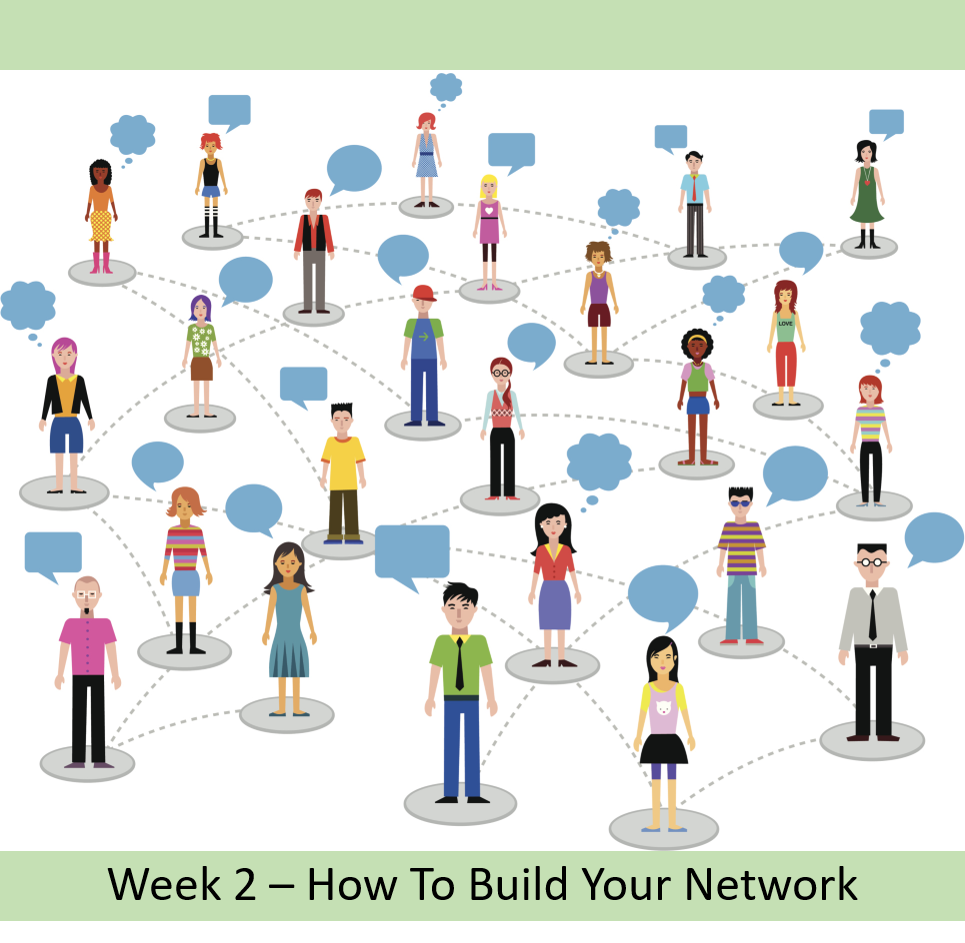 Anna Colebourne - Career coaching - how to build your network