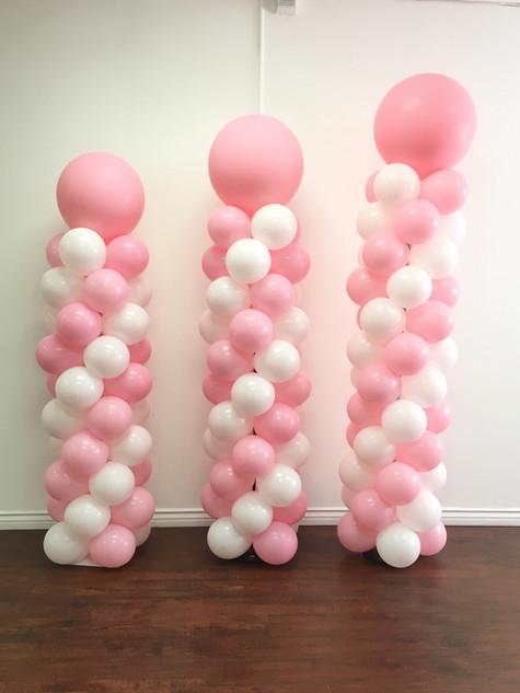 Standard Balloon Colums - Starts at $75