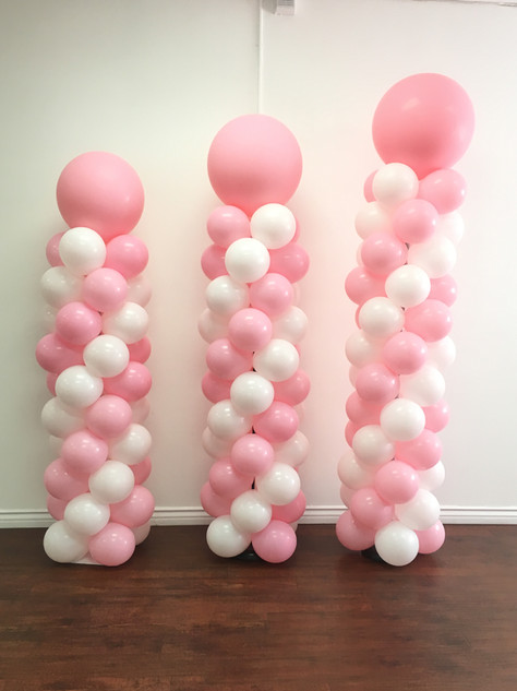Standard Balloon Colums - Starts at $75