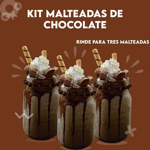 Kit de Malteadas de Chocolate