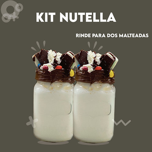 Kit Nutella Adictos