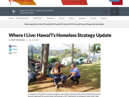 [HPR] Where I Live: Hawai'i's Homeless Strategy Update
