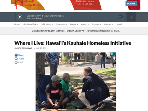 [HPR] Where I Live: Hawai'i's Kauhale Homeless Initiative