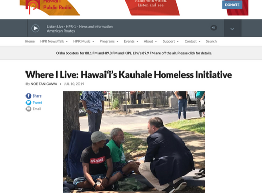 [HPR] Where I Live: Hawai'i's Kauhale Homeless Initiative