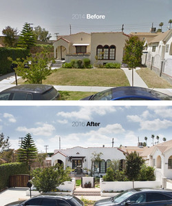 Exterior Front House remodeling