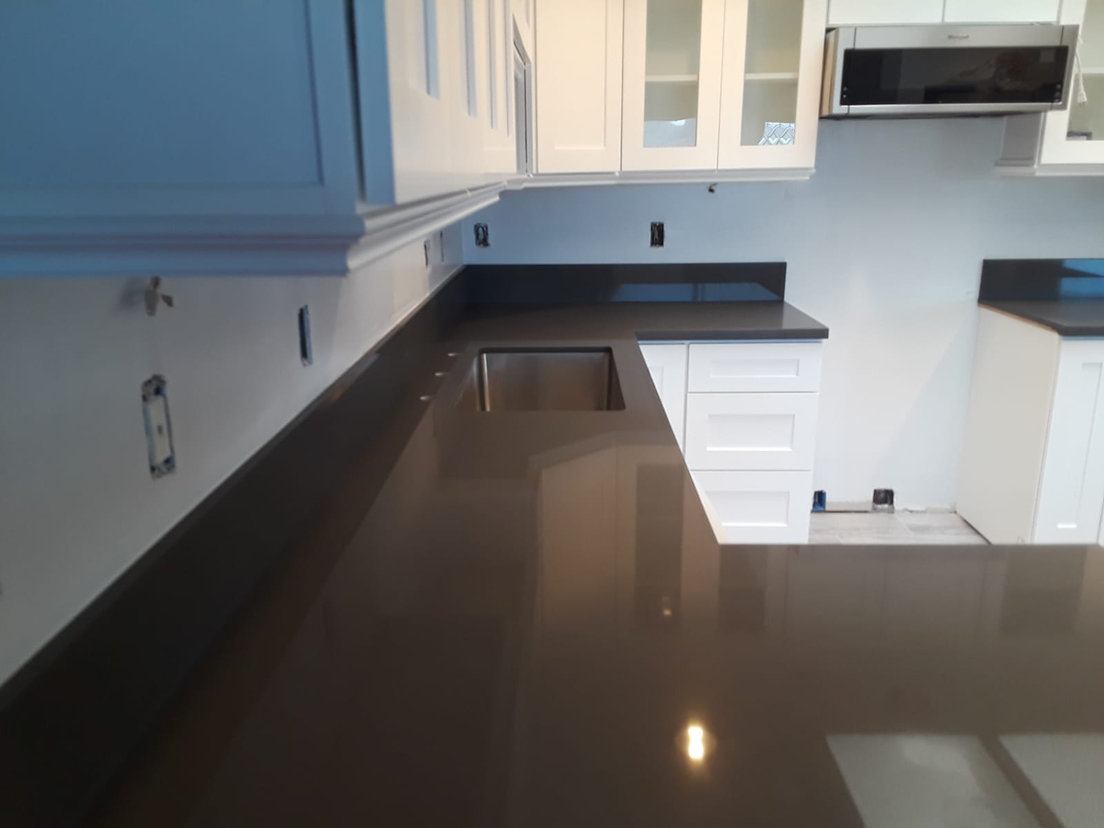 Counter top remodeling