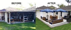 Roof remodeling / patio cover