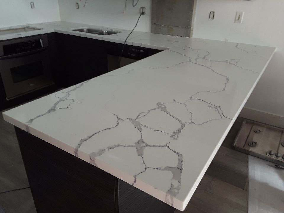 Counter top remodeling Calacatta qua