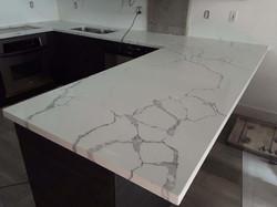 Counter top remodeling Calacatta qua