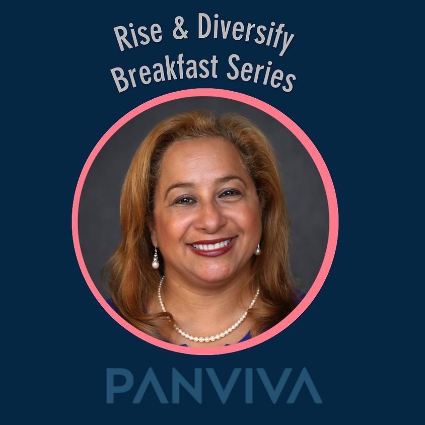 Rise & Diversify Breakfast - Claritza Abreu