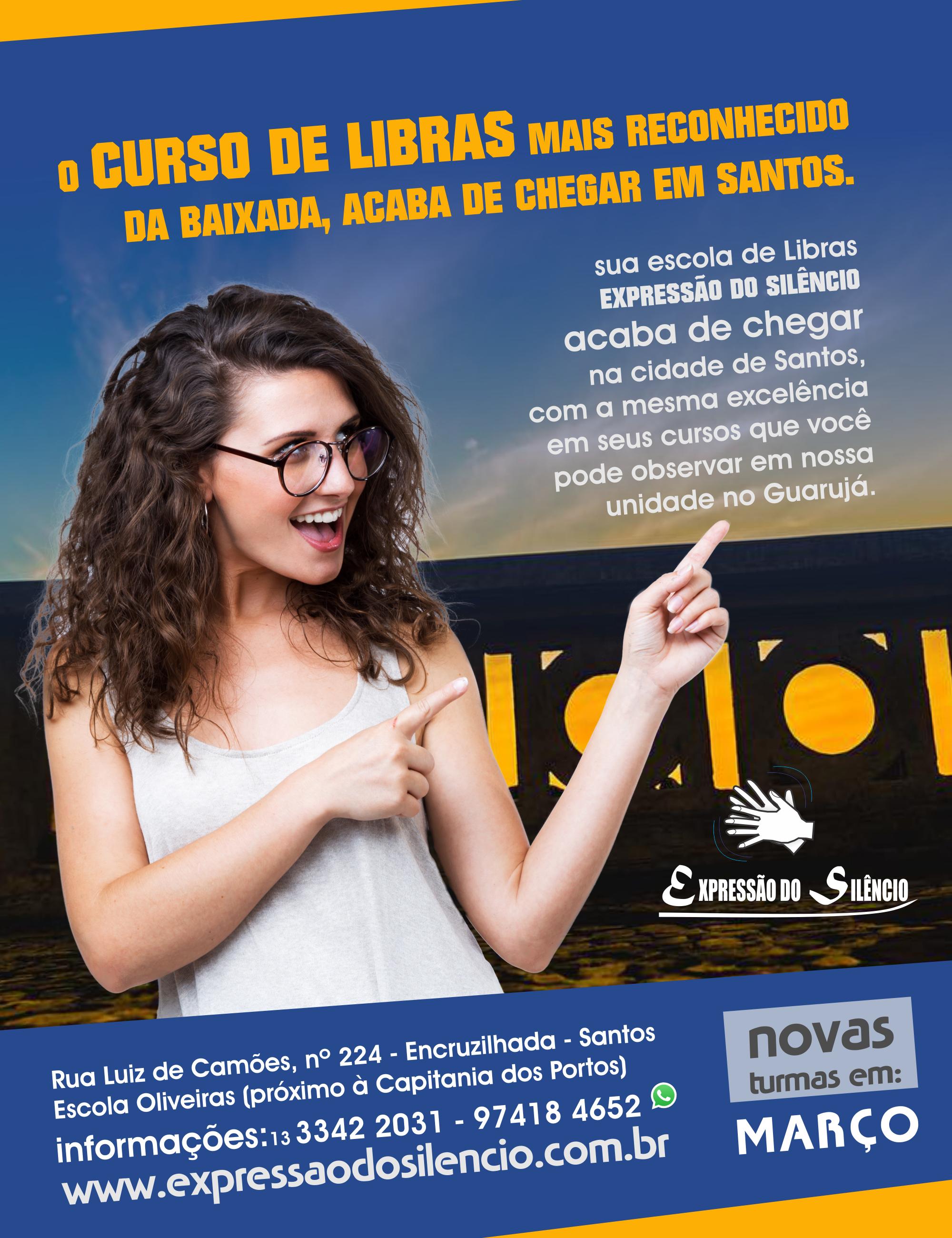 Curso de Libras Santos 2018