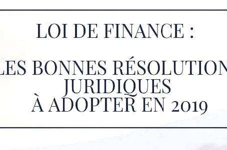 Conférence Loi de Finance 2019