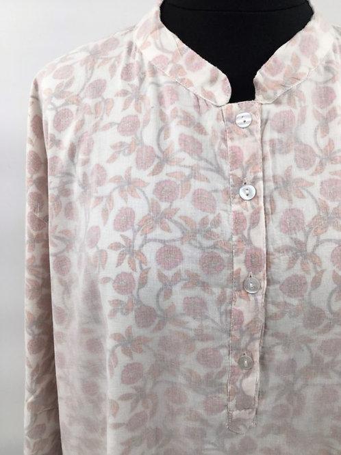 Chemise de nuit roses