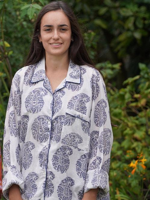 Pyjama unisexe bleu