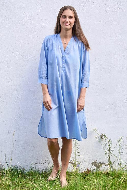 Chemise de nuit bleue clair