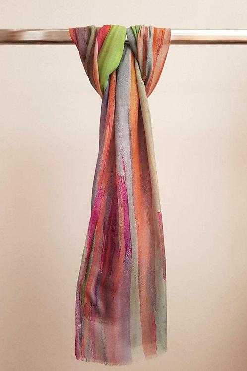 Foulard digital print  pastel