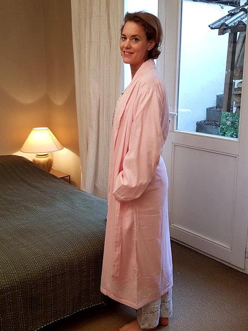 Robe de chambre rose