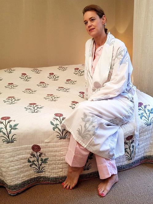 Robe de chambre big poppy