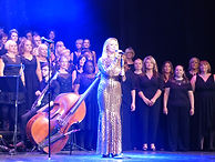 Sabrina Carter with London Show Choir