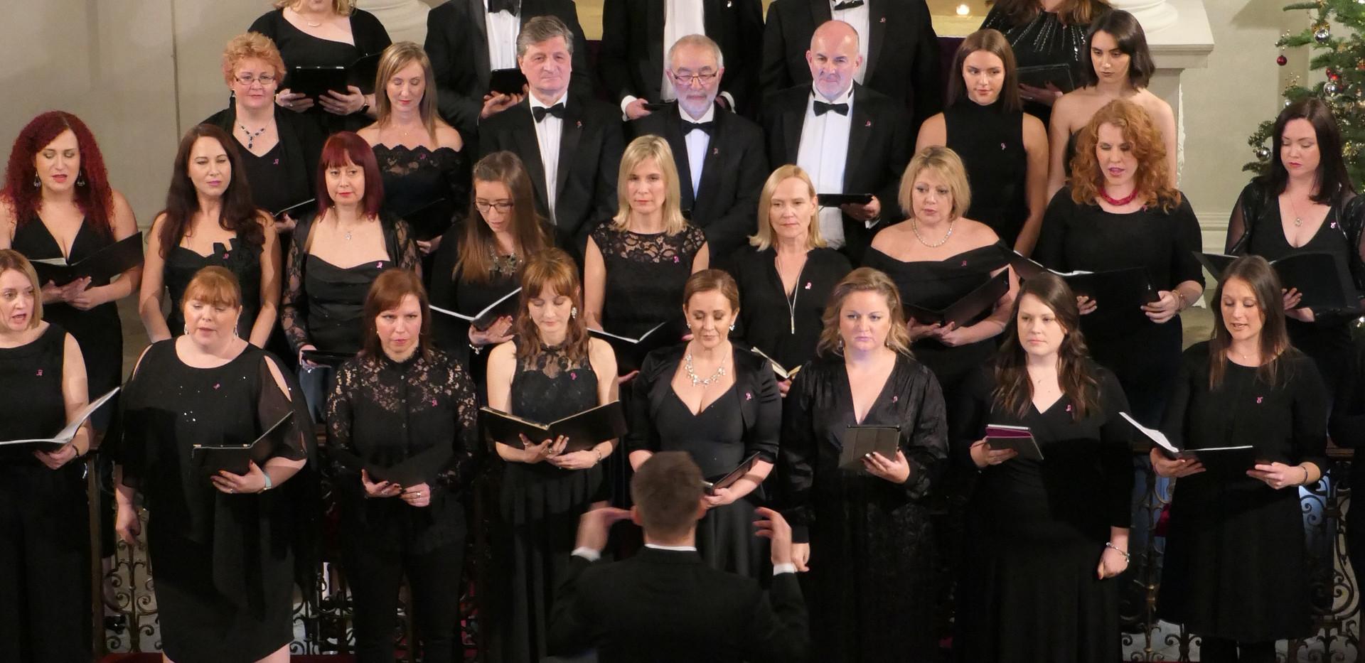London Show Choir Breast Cancer Haven Carol Concert 2019