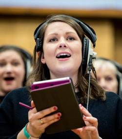 London Show Choir Abbey Road session