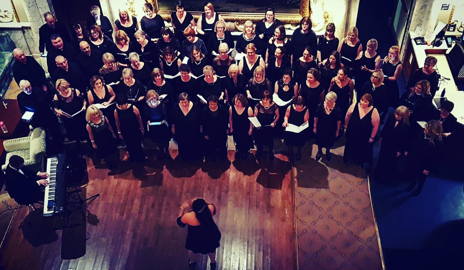 London Show Choir Homestart Winter Ball 2018