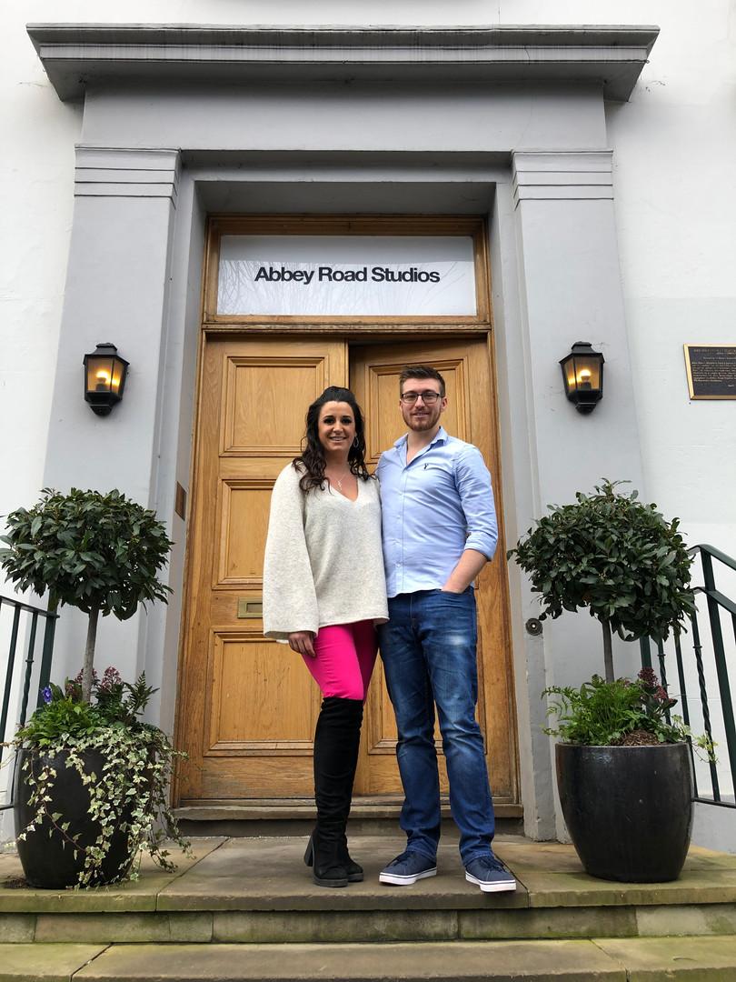 Pippa D Collins and Matt Pallant Abbey Road