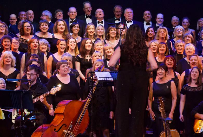 London Show Choir at The Gordon Craig Theatre, June 2019