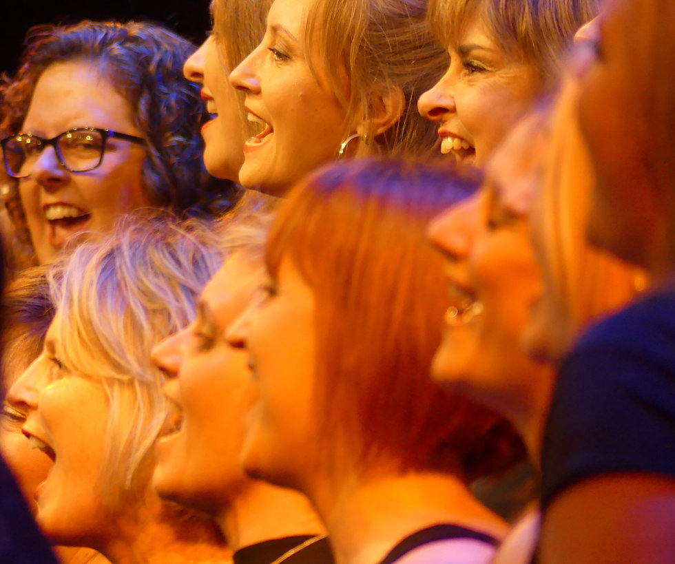 London Show Choir Gordon Craig Theatre