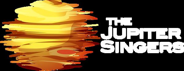 The Jupiter Singers logo white