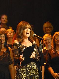 Vicki Michelle and London Show Choir