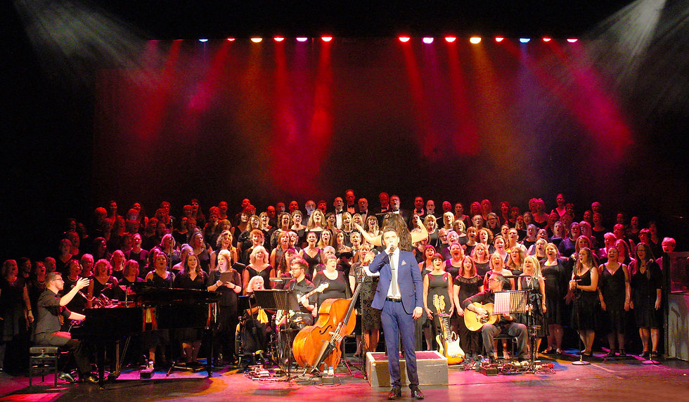 London Show Choir with Alex Lodge Gordon Craig Theatre