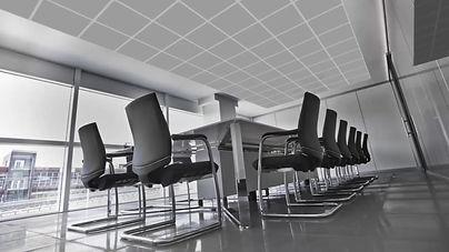 Примерно видео показващо как GDR LED панели за таван могат да се впишат в интериора на Вашия офис.