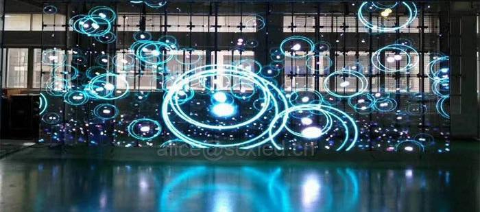 Transparent LED Video Display