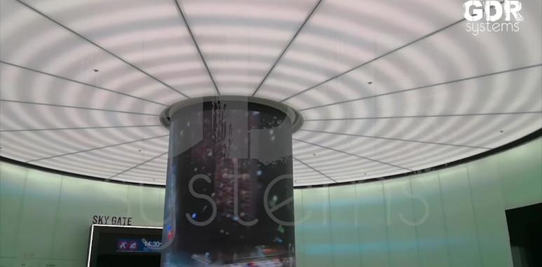 Column Transparent LED Display 2