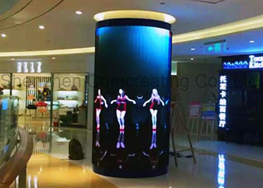 LED Creative - round column