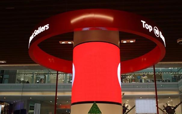 Crative LED Display at Shopping Centre