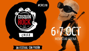 CARTEL CONFIRMADO: COSQUÍN ROCK CHILE 2018!