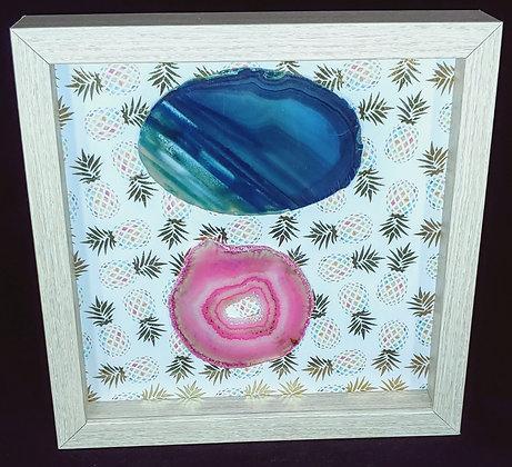 Crystal Agate Wall Art