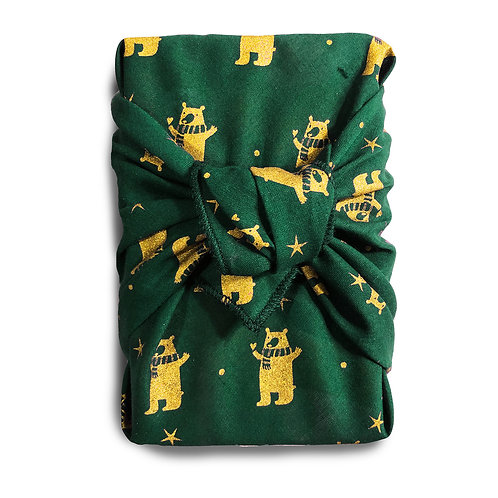 L'écharpe de Ted (verte royale)