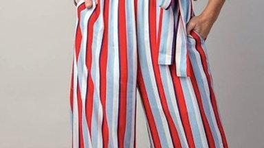 Multi Striped Jumpsuit