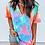 Thumbnail: Short Sleeve Tie Dye Print T-Shirt