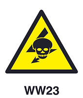 WW23 - Beware of hazard of exposed live high-voltage equiment