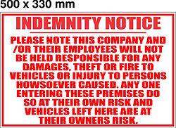500 x 330mm - Indemnity Notice.jpg